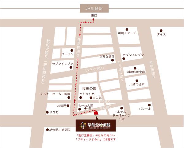 川崎店地図