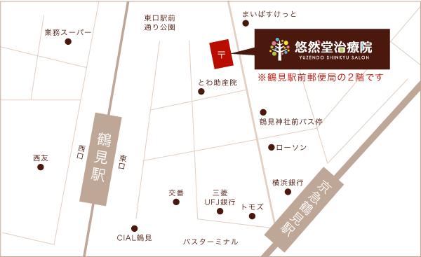 鶴見店地図